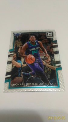 2017-18 PANINI OPTIC~Michael Kidd-Gilchrist 金屬普卡 # 18