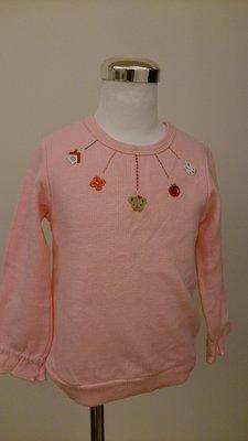 麗嬰房familiar粉色上衣