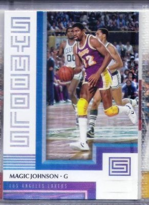 2017-18 Panini Status - Symbols #11 Magic Johnson [AAC]