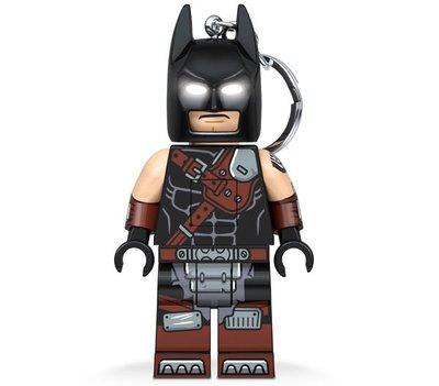 現貨附盒【LEGO 樂高】全新正品/ 蝙蝠俠 LED 鑰匙圈 樂高電影2 Batman 蝙蝠俠 人偶公仔【眼睛發光】