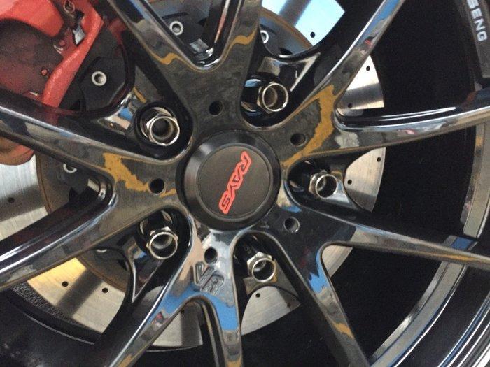 ☆光速改裝精品☆CWD 外六角 鋁圈螺絲 螺母 螺帽  黑色 鍍鉻 1.5牙 1.25牙