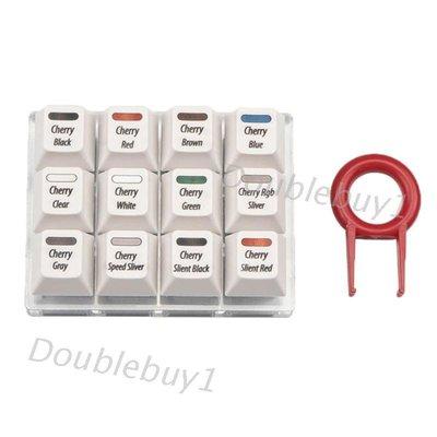 廠商特供~現貨~低價~白色鍵帽測試工具櫻桃12 MX開關鍵盤測試儀套件#C1E2147955