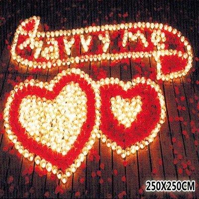 蠟燭 排字 求婚 表白 情人節 字母結婚 蠟燭套餐 結婚吧 表白 情人節 告白106號【塔克玩具】