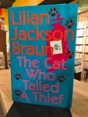 店T《好書321》英文小說The Cat Who Tailed A Theif/Lilian Jackson Braun