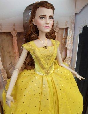 迪士尼公主 美女與野獸 艾瑪華森 17吋收藏娃娃 Beauty & The Beast Limited Edition Doll
