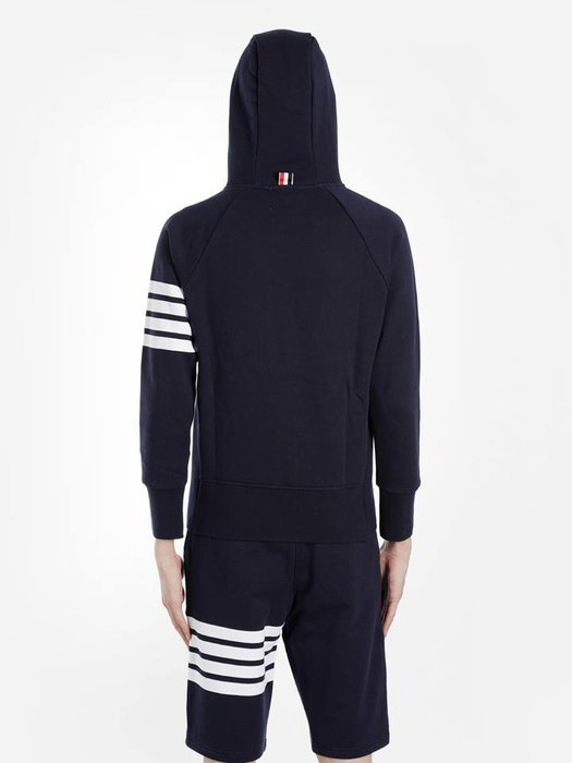 [ 羅崴森林 ] THOM BROWNE新品現貨 湯姆布朗海軍藍連帽外套