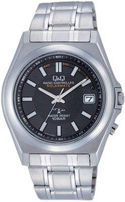 日本正版 CITIZEN 星辰 Q&Q HG08-202 手錶 男錶 電波錶 太陽能充電 日本代購