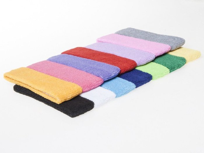 運動毛巾頭帶 吸汗運動髮帶 吸汗頭巾 – 寶藍(深藍) FA-37388