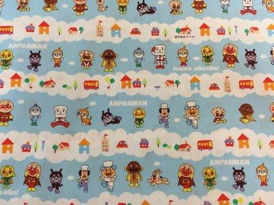【傑美屋-縫紉之家】日本限量卡通布~麵包超人G2130-15A牛津厚棉布