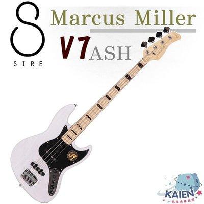 貝斯手首選|Sire Marcus Miller V7 ASH|四弦 電貝斯 (2nd Gen)|凱恩音樂教室