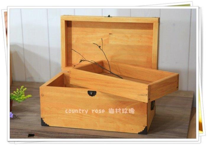客製化木製化妝箱  置物箱/收納箱 /家具訂做 - 『鄉村玫瑰』室內裝修 商空設計 手工家具