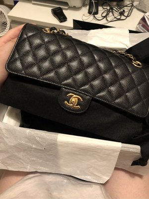 全新 Chanel cf medium 25cm