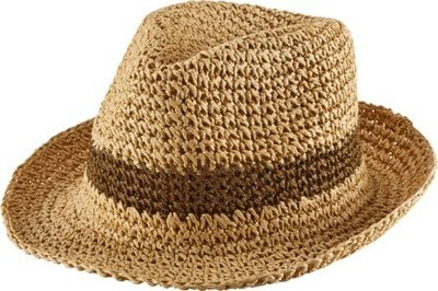 New York Hat #RS7142CROCHET FEDORA/Made in USA  預購款
