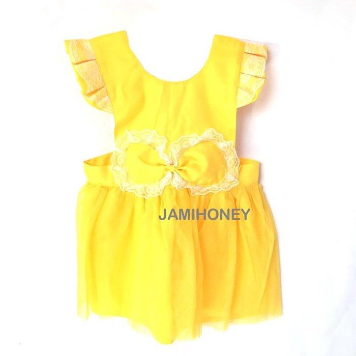 美女與野獸貝兒公主 兒童圍裙【JI2383】《Jami Honey》