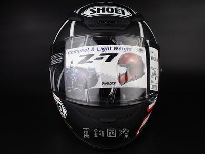 SHOEI Z-7 MARQUEZ BLACK ANT TC-5 PINLOCK防霧片 Z7 MM93~萬鈞國際