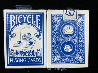 哆啦A夢撲克牌 哆啦A夢單車牌 BICYCLE Doraemon playing cards 小叮噹單車牌 小叮噹撲克牌