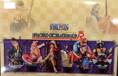 金錢貓雜貨 全新 MEGAHOUSE 海賊王 Chess Collection R 西洋棋 第2彈 共6款