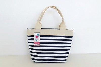 ~YOGSBEAR~  D 環保袋 手提袋 手提包 手拿包 袋 便當袋 餐袋 水餃包 D~52 深藍