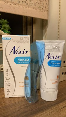 【澳洲原裝】滿額免運~Nair敏感肌溫和無痛除毛膏 Hair Removing 75g超新鮮現貨