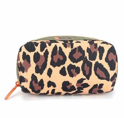 Lesportsac MUVEIL草原之旅 6511 豹紋  化妝包 收納包 降落傘防水 限量
