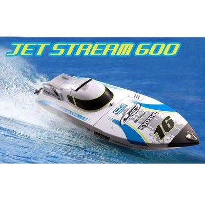 **RC 小舖** Kyosho 遙控船 快艇 40132T2 EP Jet Stream 600 RTR 全套版
