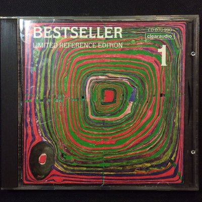 Bestseller 1 大砧板發燒測試盤 德國Clearaudio音響發行 舊版1990年全銀圈版無ifpi無條碼
