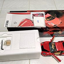 BBR 1/18 Ferrari F430 competition edition Red 精緻上色合金全開汽車模型
