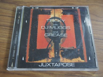 ◎MWM◎【二手CD】Tricky with DJ Muggs and Grease- Juxtapose 有側標,