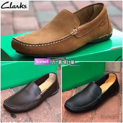Clarks克拉克男士豆豆鞋真皮休闲鞋乐福鞋懒人鞋39-44