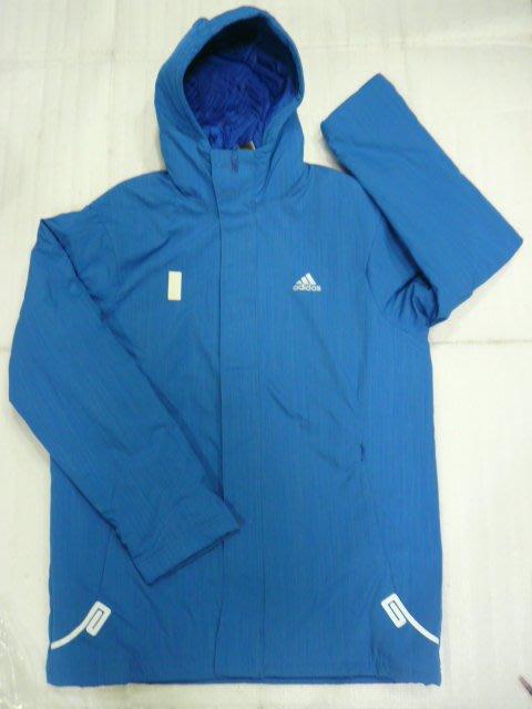 ^^n0900^^-ADIDAS-【台灣健立最便宜】WJL PAD COAT-頂級休閒鋪棉防風保暖風衣外套P71099