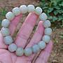 簡單Simple。現貨。10402號天然新疆和闐玉/和田玉且末料老型珠手珠手鍊。12MMx11MM