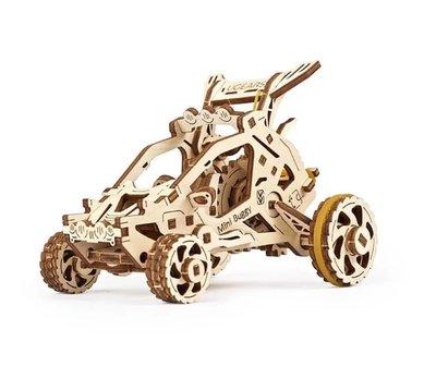 Ugears 飆沙小車車 Mini-Buggy 越野沙灘車 沙漠征服者 入門款