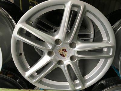 PORSCHE 保時捷 原廠 19吋鋁圈 AUDI VW 通用 5孔130 MADE IN ITALY