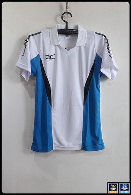 美津濃Mizuno(男款抗紫外線 吸汗速乾 透氣排汗短袖POLO衫)V2TA4G1401