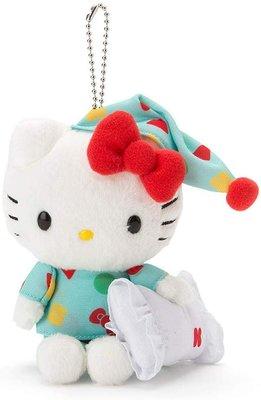 全新 日本代購 Sanrio Hello Kitty 12CM 掛飾 蠟筆小新睡衣 Keychain 預購(可旺角門市自取)預訂貨品請先入數