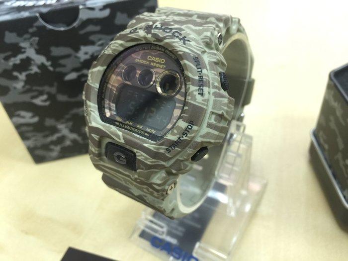 ☾-XinmOOn CASIO 卡西歐 G-Shock GD-X6900CM-5DR 叢林 迷彩 虎紋 GD-X6900