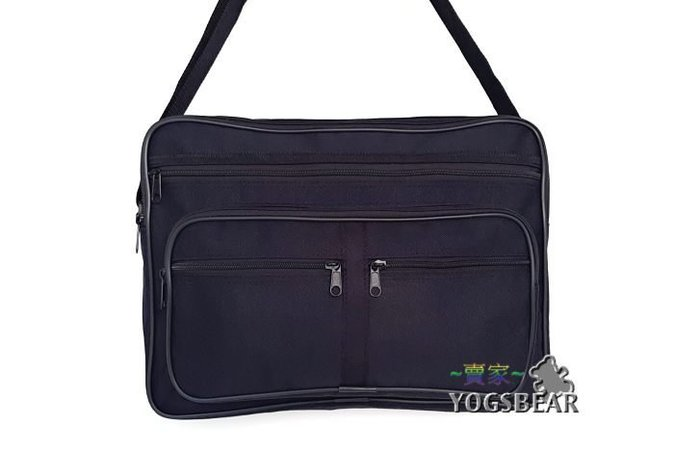 【YOGSBEAR】台灣製造 F1 側背包 斜背包 休閒包 公事包 肩背包 護照包 工具包 書包 W~S 大