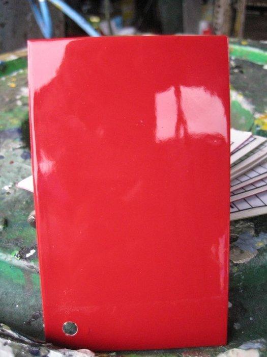 【振通油漆公司】日本ROCK原裝汽車烤漆 補漆 DIY FERRARI 色號-322 法拉利紅