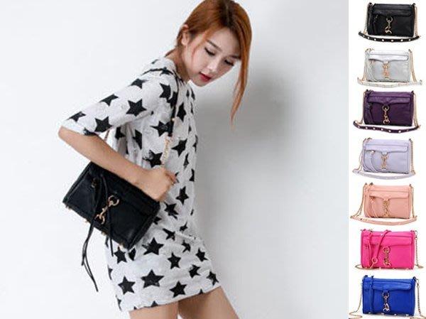 歐美rebecca minkoff 同款 Mini Mac金屬鍊條流蘇小包 鏈條包小方包 側背包 肩背包 斜背包 單肩包