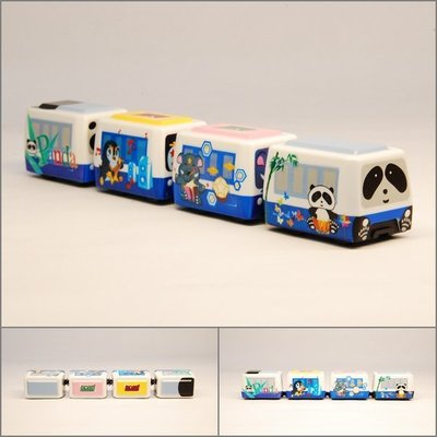 TRAIL 鐵支路 Q版 迴力小列車 台北捷運木柵線 彩繪版 QV013T2