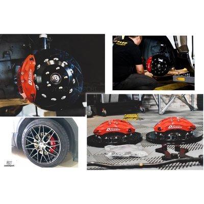 小傑車燈--全新實車 DS RACING S1 CRV 4代 5代 卡鉗 大六活塞 煞車 雙片浮動碟 金屬油管 來令片