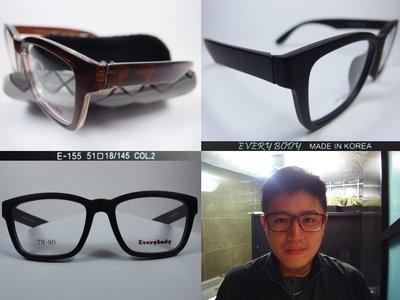 【信義計劃眼鏡】Every Body 眼鏡 TR90膠框 方框 超越 Victoria Beckham 維多利亞貝克漢