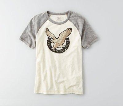 T☆【AE男生館】☆【AE American Eagle短袖T恤】☆【AE001B1】☆特價品☆(S-M)原價699