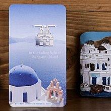 【象牙cute ta】韓國 Bookfriends bookmark _ Santorini  書的朋友書籤  愛琴海