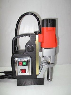 【新宇電動五金行】台灣製造 LMD-35 高速磁性鑽孔機 磁性穴鑽 鑽孔機 開孔機 馬達2年保固 齒輪5年!(特價)