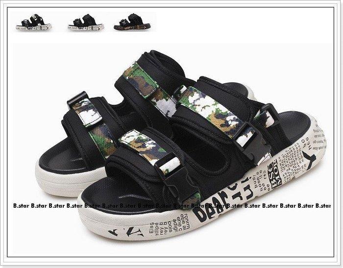 【B.STAR】《ZF004》夏季新款羅馬鞋 越南涼鞋 運動潮拖 沙灘鞋 任搭兩款免運優惠