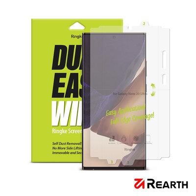 Rearth Ringke 三星 Galaxy Note 20 Ultra 滿版抗衝擊螢幕保護貼(兩片裝)
