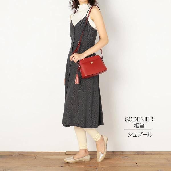 日本製~福助 13分丈 羅紋編織 緊身內搭褲 (共2款)