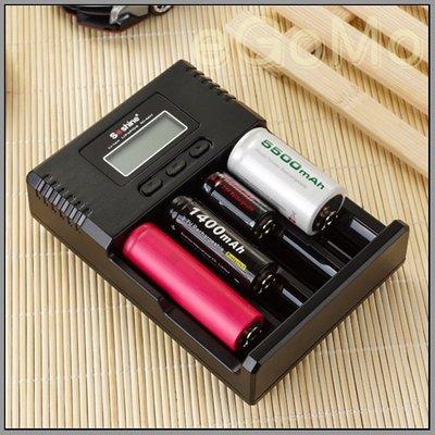 【eGoMo】電力銀行--soshine H4 4槽獨立 大全配液晶萬能充電器