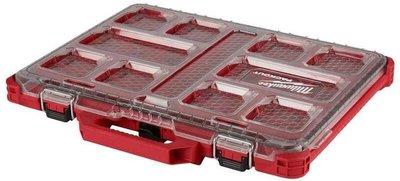 【屏東工具王】全新 Milwaukee 米沃奇 48-22-4831 配件工具箱 可堆疊 零件盒 收納箱